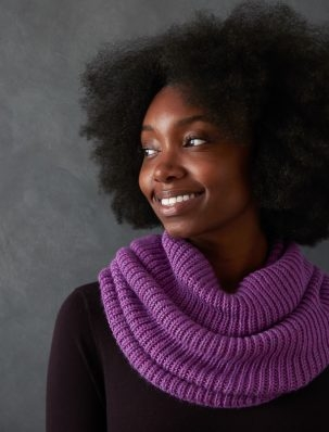 Soft + Cushy Cowl | Purl Soho