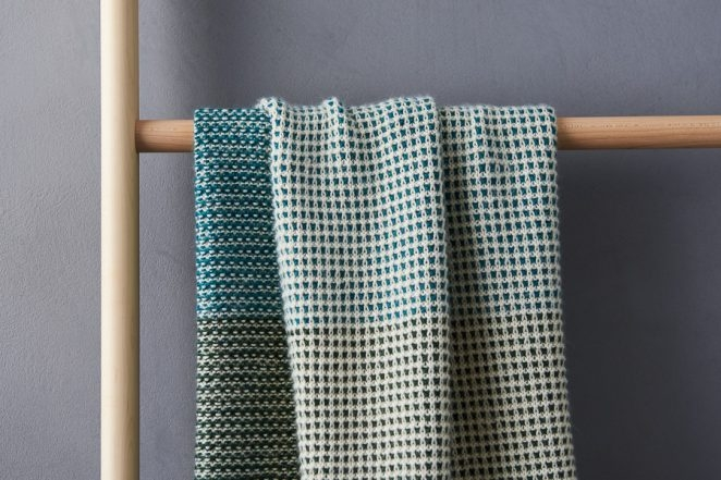 Tonal Blanket In New Colors | Purl Soho