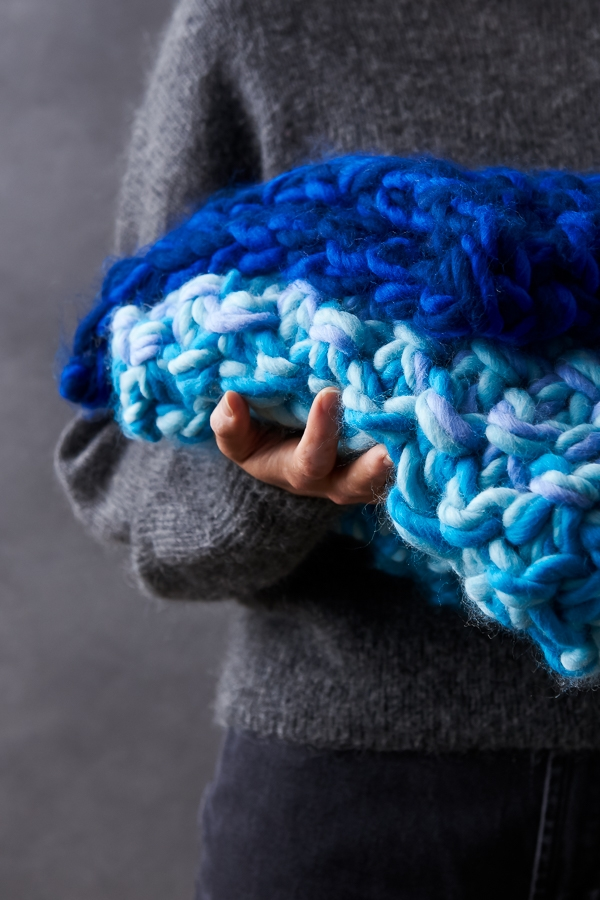 Eleventh Hour Color Story Blanket Purl Soho