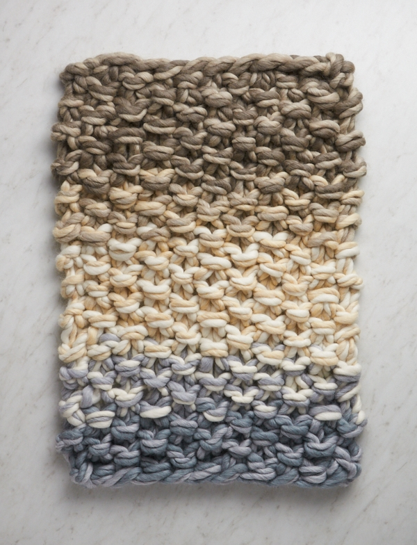 Eleventh Hour Color Story Blanket | Purl Soho
