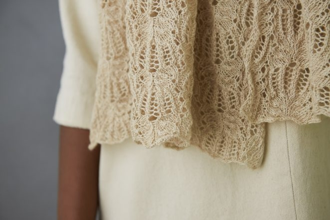 Botanical Lace Wrap | Purl Soho