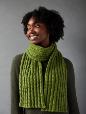 Braided Rib Scarf | Purl Soho