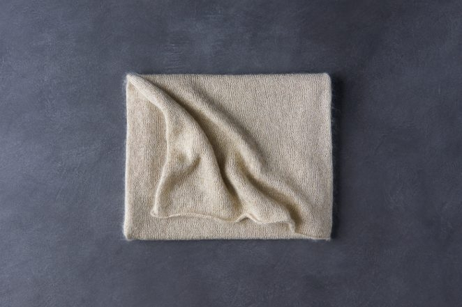 Elementary Wrap In Mineral Silk + Tussock | Purl Soho