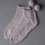 Pom Pom Mineral Socks