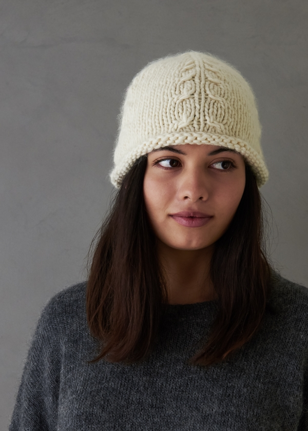 Beginner's Cable Hat | Purl Soho
