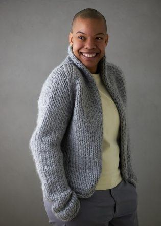 Brandi Cheyenne Harper For Purl Soho: Gentle Cardigan | Purl Soho