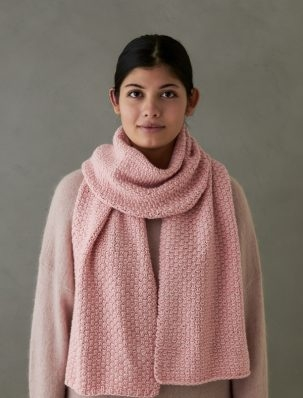 Staggered Fisherman's Rib Scarf | Purl Soho