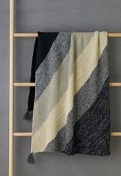 Rectangular Colorblock Bias Blanket Bundle - New Colors!