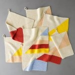 Colorful Half + Half  Washcloths
