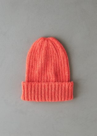 Lovely Ribbed Hat In Linen Quill Worsted | Purl Soho