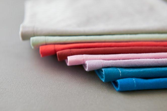 Classic Mitered Corner Napkins In Spectrum Cotton | Purl Soho