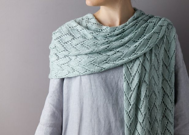 Wedding Shawl In Burnish | Purl Soho