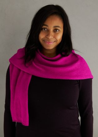 Elementary Wrap In Spectrum Silk | Purl Soho
