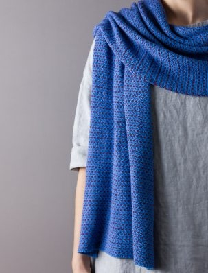 Handwritten Wrap | Purl Soho