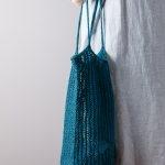 Knit Linen Market Bag