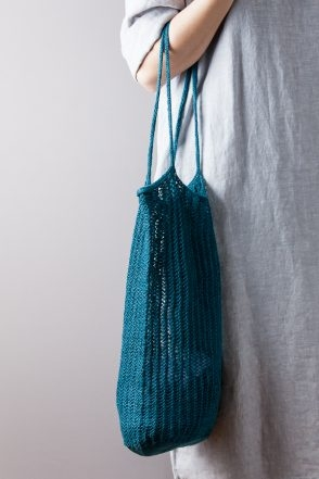Knit Linen Market Bag | Purl Soho
