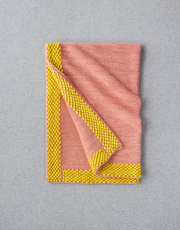 Bobble Border Blanket | Purl Soho