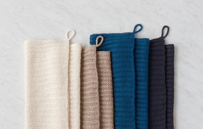 No-Purl Rib Hand Towel | Purl Soho