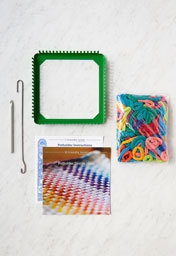 Potholder Loom + Loops