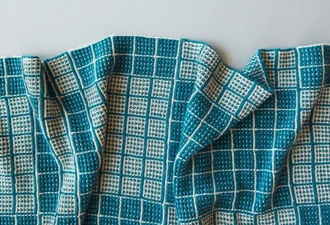 Mosaic Squares Blanket | Purl Soho