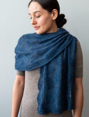 Seashell Lace Wrap | Purl Soho