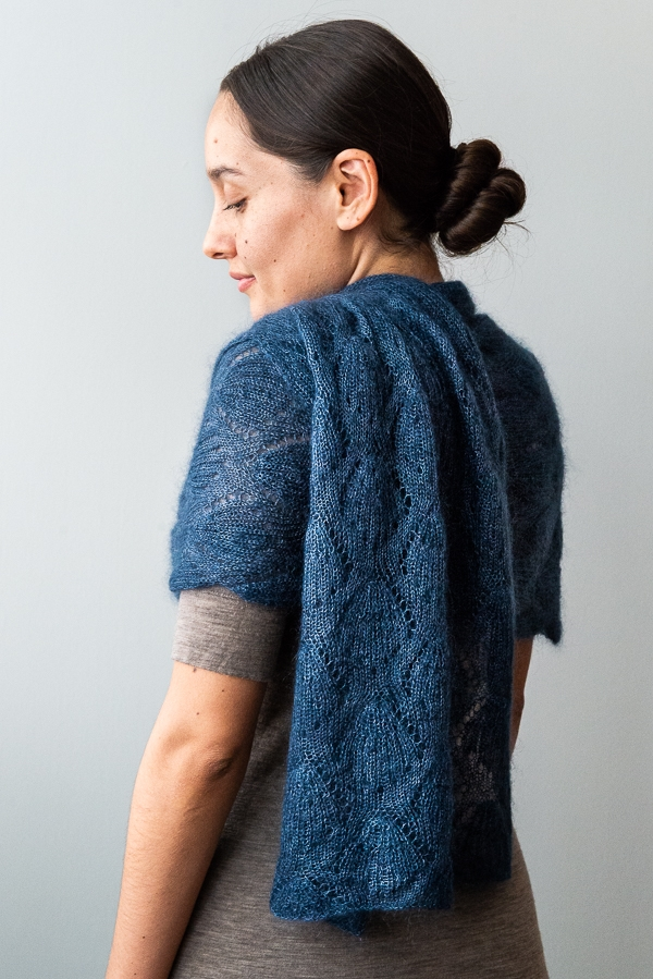 Seashell Lace Wrap | Purl Soho
