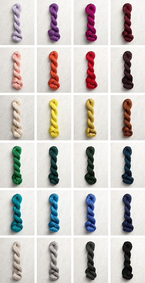 Julie Hoover For Purl Soho: Goode In Spectrum Silk | Purl Soho