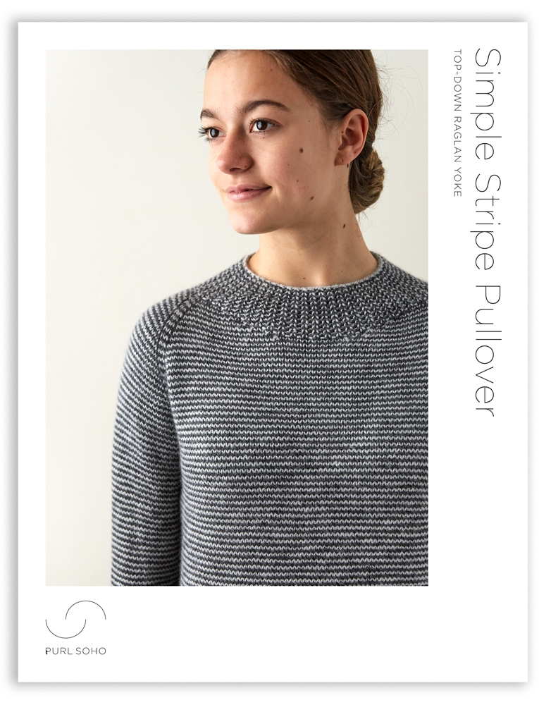 Simple Stripe Pullover | Purl Soho