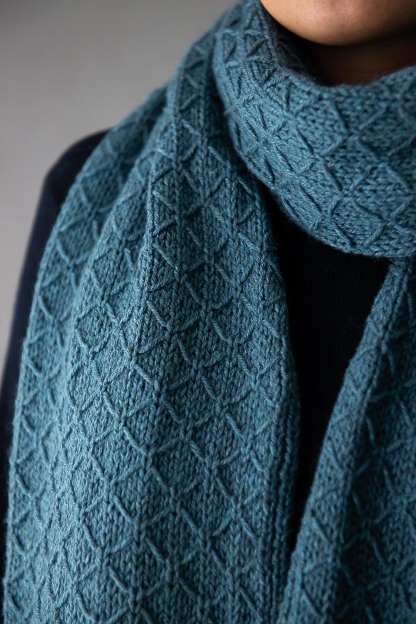 Trellis Wrap In Understory | Purl Soho