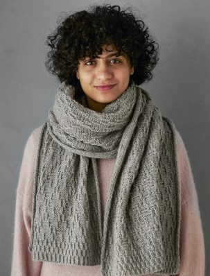 Diamond + Dot Wrap | Purl Soho