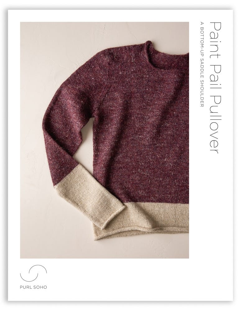 Paint Pail Pullover   Purl Soho