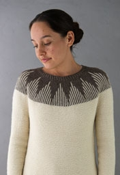 Thistle Yoke Pullover Pattern Download