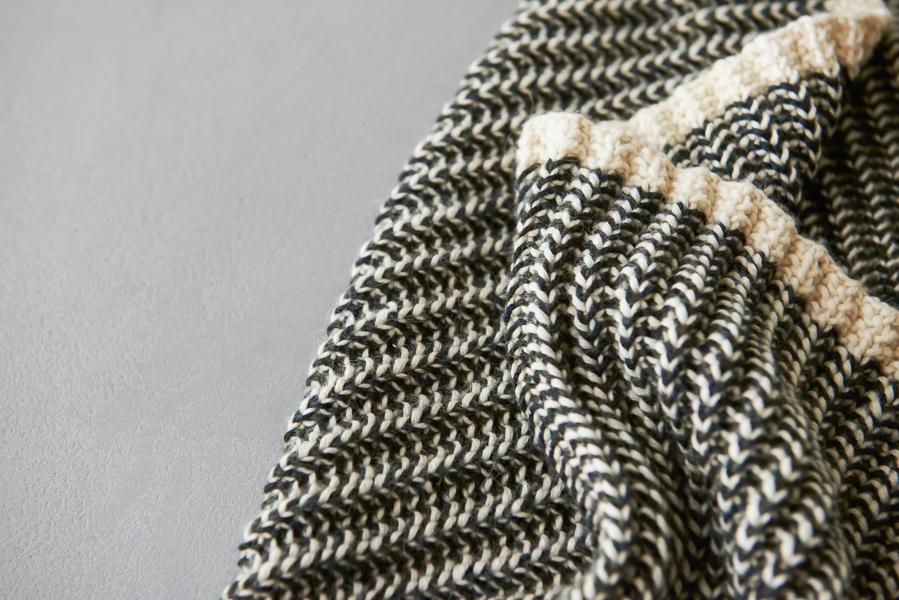 Two-Color Mistake Rib Cowl | Purl Soho