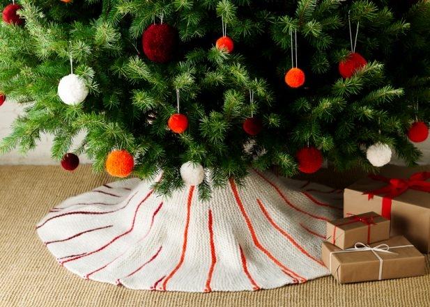 Knit Around Tree Skirt | Purl Soho