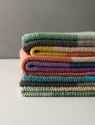 Super Easy Baby Blanket In Morning | Purl Soho