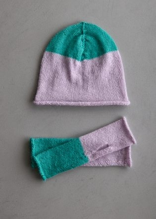 Pigment Hat + Hand Warmers | Purl Soho