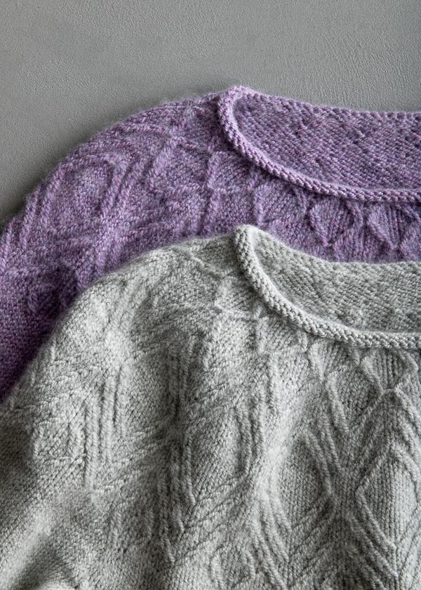 Andrea Cull For Purl Soho: Quartz Pullover | Purl Soho