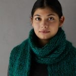 Three-Yarn Scarf For Giving