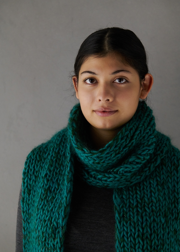 Three-Yarn Scarf For Giving | Purl Soho