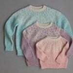 Bobble Yoke Sweater In New Colors
