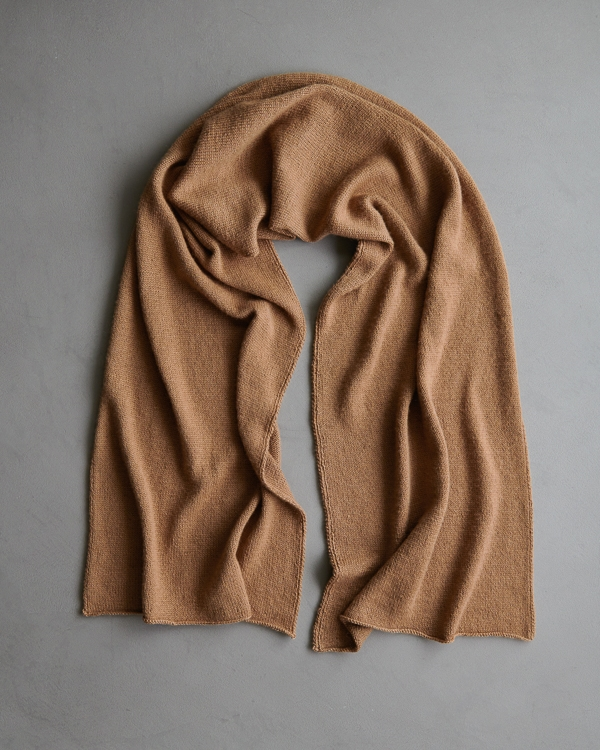 Elementary Wrap In Simply Camel | Purl Soho
