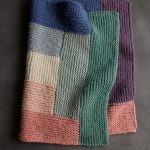 Log Cabin Spectrum Blanket
