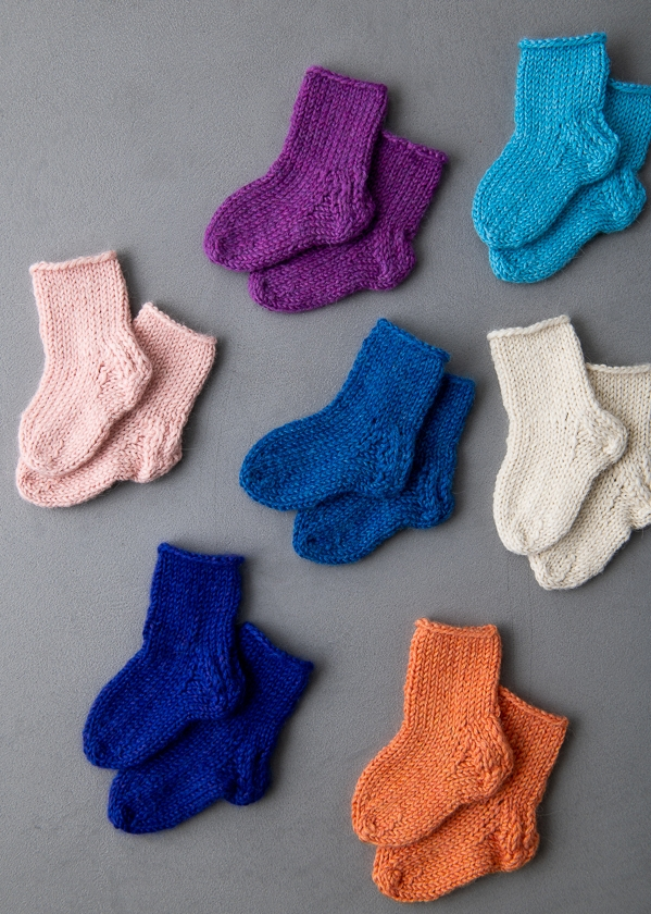 Baby Socks In New Colors | Purl Soho