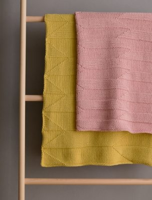 Woodcut Blanket | Purl Soho