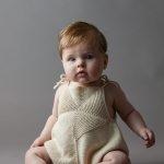 Ainur Berkimbayeva For Purl Soho: Pinwheel Baby Romper