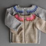 Baby Colorwork Cardigan In New Colors