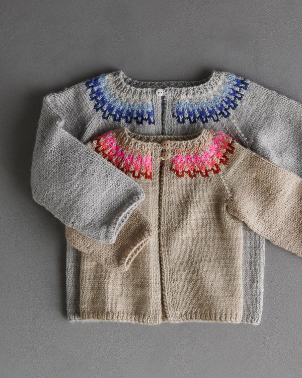Baby Colorwork Cardigan In New Colors | Purl Soho