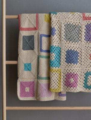 Fair + Square Blanket, Knit Version | Purl Soho