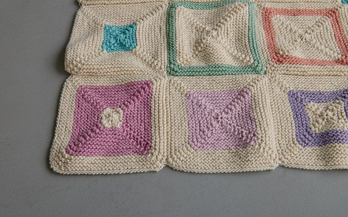 Fair + Square Blanket, Knit Version   Purl Soho