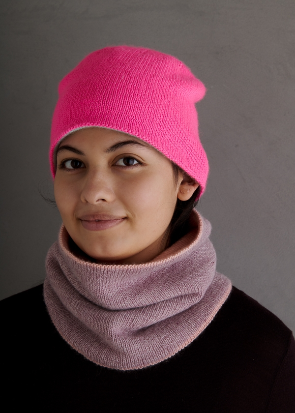 Reversible Hat + Cowl In New Colors | Purl Soho
